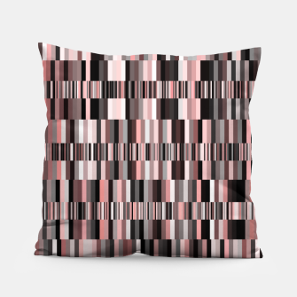 Thumbnail image of Screen glitch, geometric print, old tv design, abstract tech print Pillow, Live Heroes