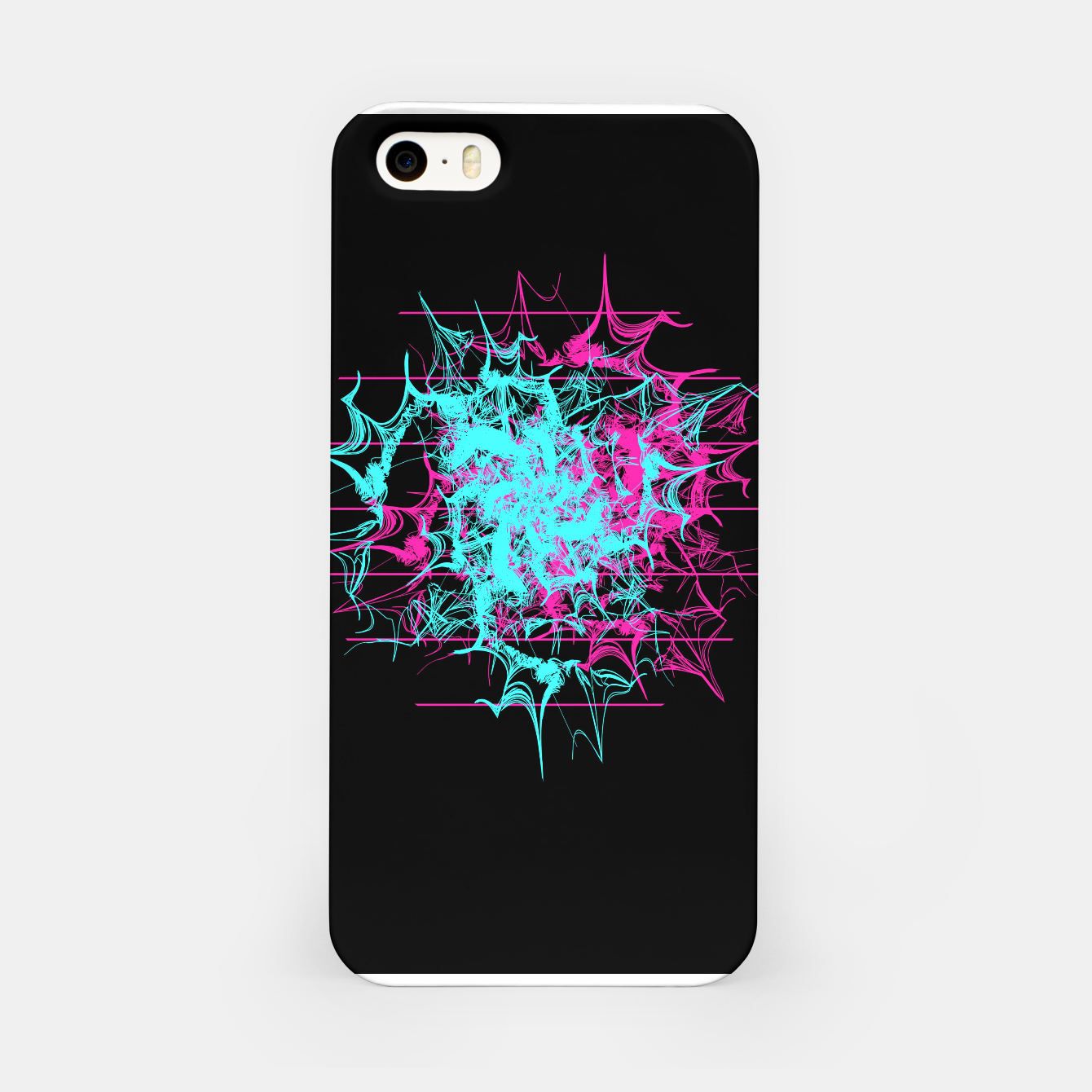 Image of Tech Wave iPhone Case - Live Heroes