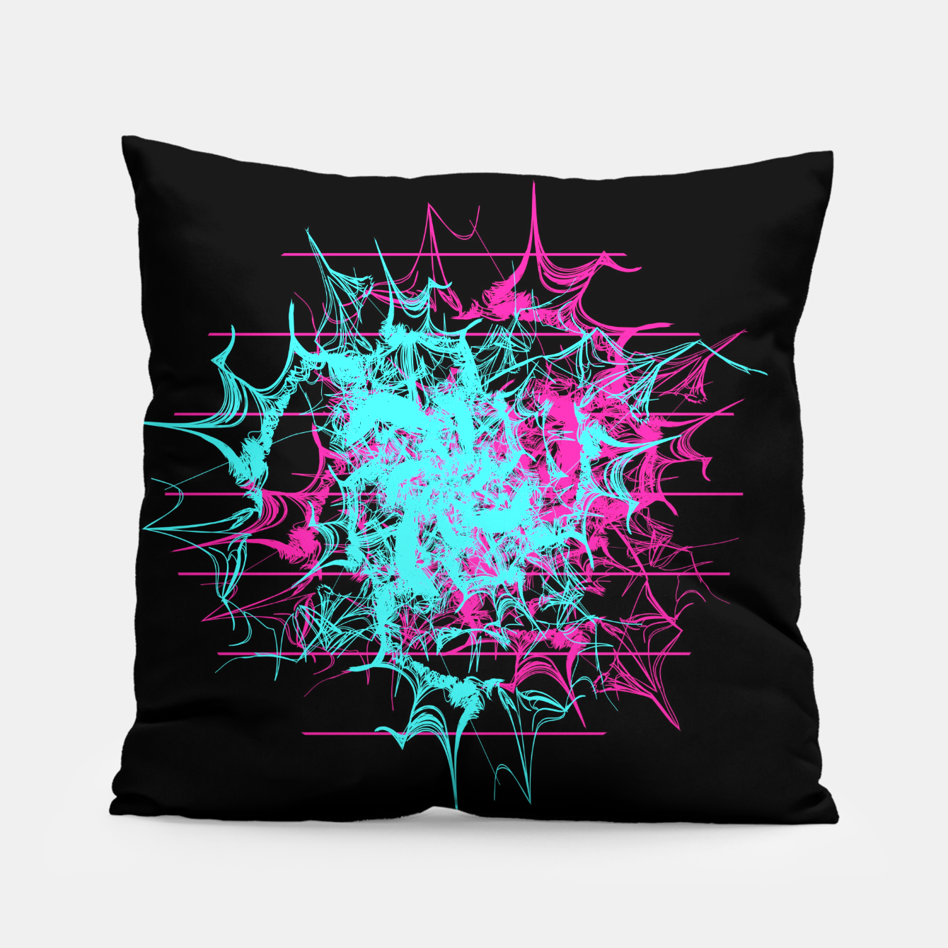 Image of Tech Wave Pillow - Live Heroes