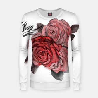 Thumbnail image of Rose Women sweater, Live Heroes