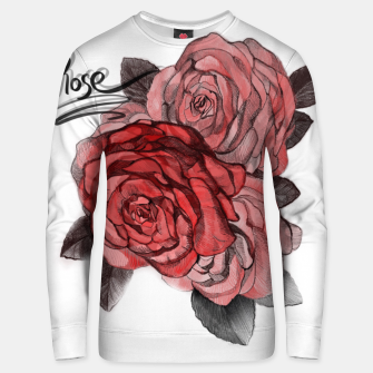 Thumbnail image of Rose Unisex sweater, Live Heroes