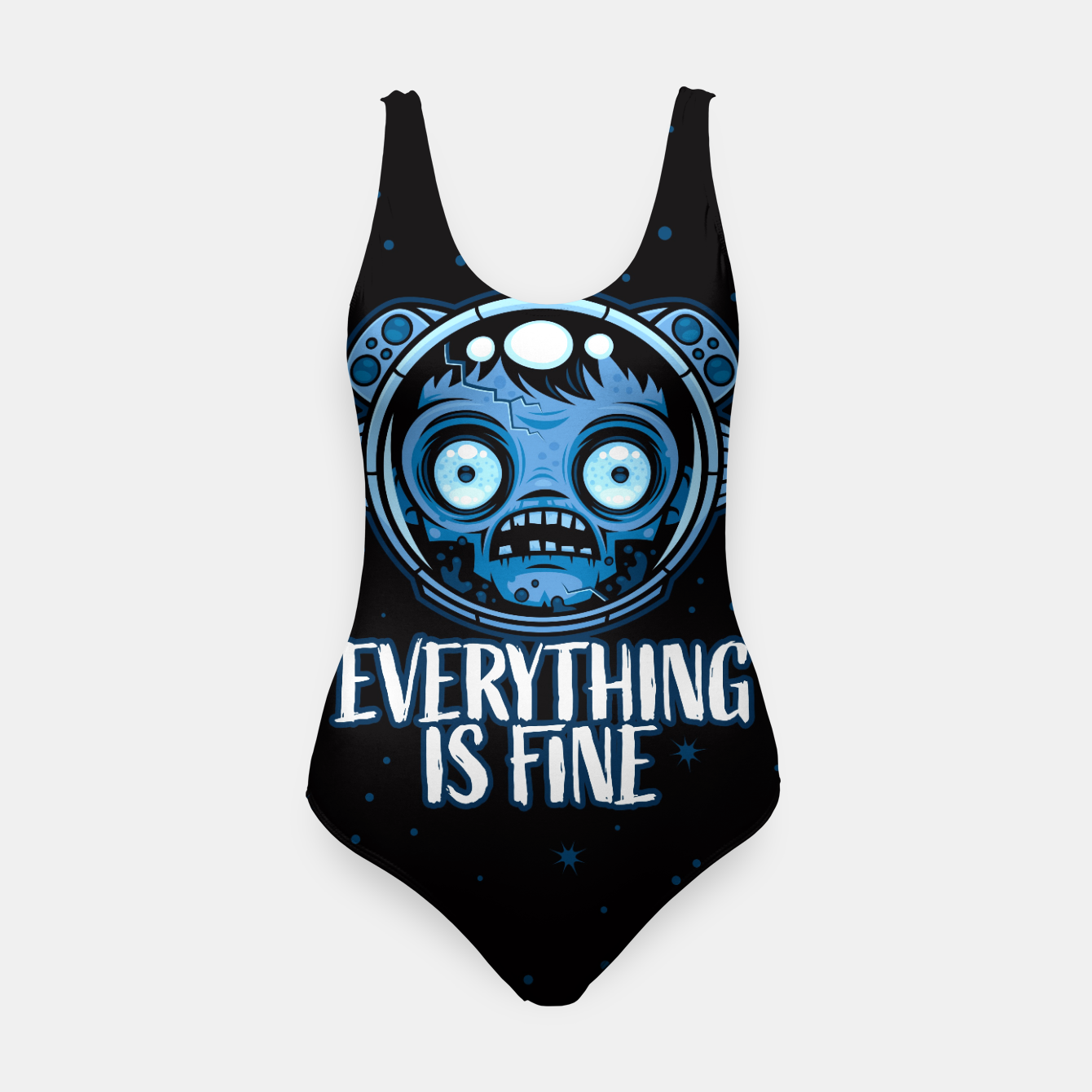 Image of Zombie Astronaut Is Fine Swimsuit - Live Heroes