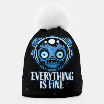 Thumbnail image of Zombie Astronaut Is Fine Beanie, Live Heroes
