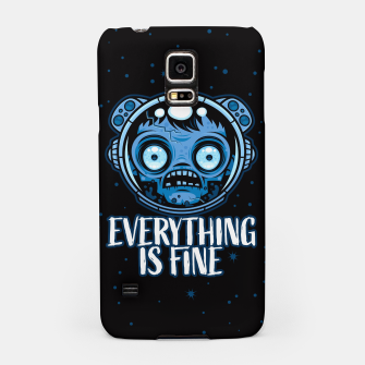 Thumbnail image of Zombie Astronaut Is Fine Samsung Case, Live Heroes