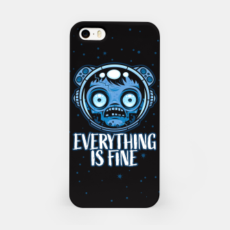 Thumbnail image of Zombie Astronaut Is Fine iPhone Case, Live Heroes