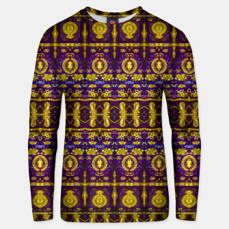 Thumbnail image of Fancy Ornate Pattern Mosaic Unisex sweater, Live Heroes
