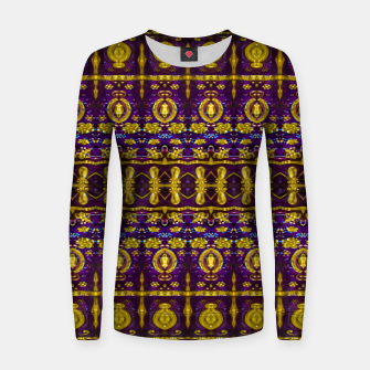 Thumbnail image of Fancy Ornate Pattern Mosaic Women sweater, Live Heroes