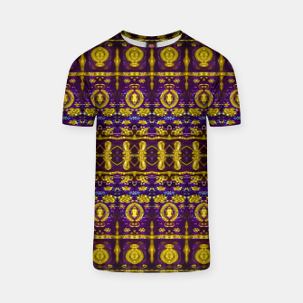 Thumbnail image of Fancy Ornate Pattern Mosaic T-shirt, Live Heroes