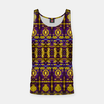 Thumbnail image of Fancy Ornate Pattern Mosaic Tank Top, Live Heroes