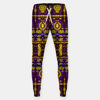 Thumbnail image of Fancy Ornate Pattern Mosaic Sweatpants, Live Heroes