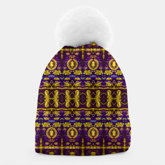 Thumbnail image of Fancy Ornate Pattern Mosaic Beanie, Live Heroes