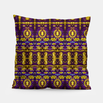 Thumbnail image of Fancy Ornate Pattern Mosaic Pillow, Live Heroes