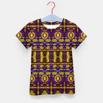 Thumbnail image of Fancy Ornate Pattern Mosaic Kid's t-shirt, Live Heroes