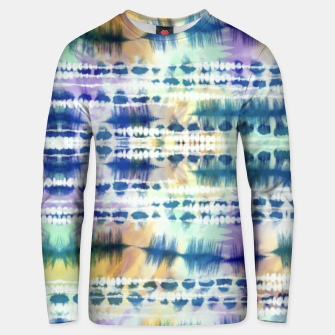 Thumbnail image of Linear tie dye strokes 64 Sudadera unisex, Live Heroes