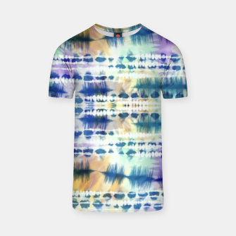 Thumbnail image of Linear tie dye strokes 64 Camiseta, Live Heroes