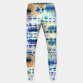 Thumbnail image of Linear tie dye strokes 64 Pantalones de chándal , Live Heroes
