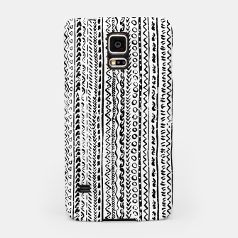 Thumbnail image of Black White Tribal Pattern Samsung Case, Live Heroes