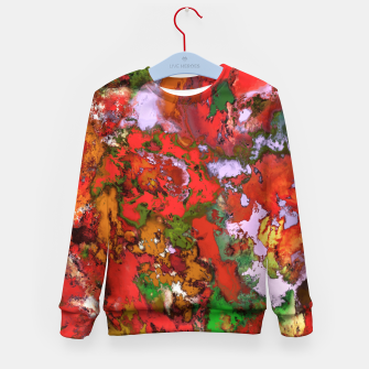 Thumbnail image of Paint machine Kid's sweater, Live Heroes