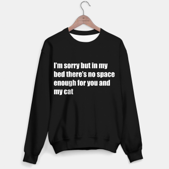 Thumbnail image of Not space enough in my bed Sweater regular, Live Heroes