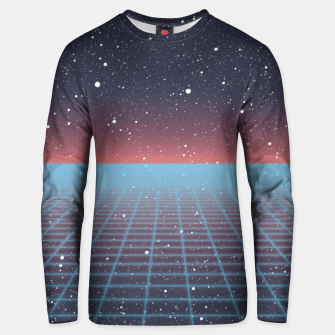 Thumbnail image of Spaced Out Full-print Vaporwave Sweater, Live Heroes
