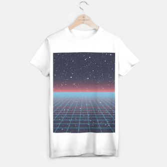 Thumbnail image of Spaced Out Vaporwave T-shirt, Live Heroes