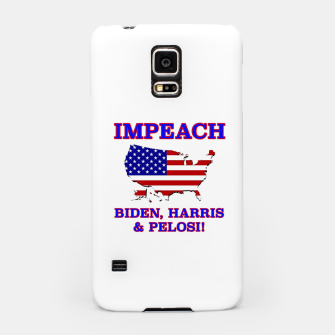 Thumbnail image of IMPEACH BIDEN HARRIS AND PELOSI CBDOilPrincess Samsung Case, Live Heroes