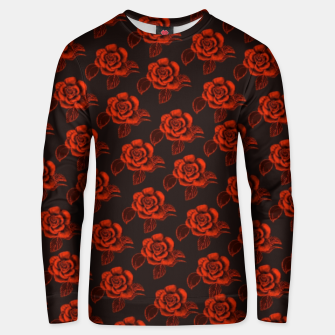 Thumbnail image of Velvet Red Roses  Sudadera unisex, Live Heroes