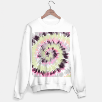 Thumbnail image of Tie dye vibrant colorful 90 Sudadera regular, Live Heroes