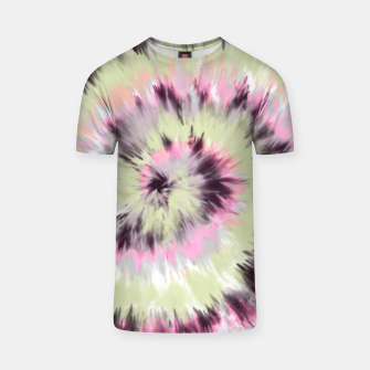 Thumbnail image of Tie dye vibrant colorful 90 Camiseta, Live Heroes