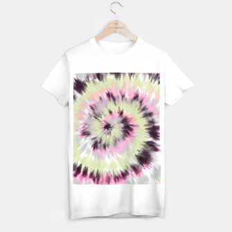 Thumbnail image of Tie dye vibrant colorful 90 Camiseta Regular, Live Heroes
