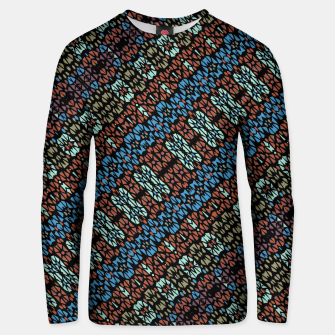 Thumbnail image of Multicolored Mosaic Print Pattern Unisex sweater, Live Heroes