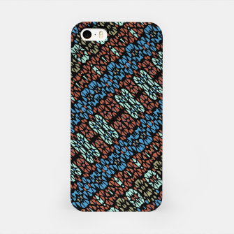 Thumbnail image of Multicolored Mosaic Print Pattern iPhone Case, Live Heroes