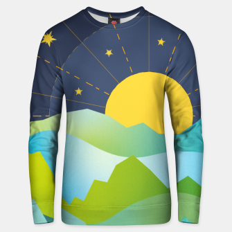 Thumbnail image of The Sun and the Stars Unisex sweater, Live Heroes