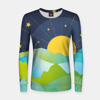 Thumbnail image of The Sun and the Stars Women sweater, Live Heroes