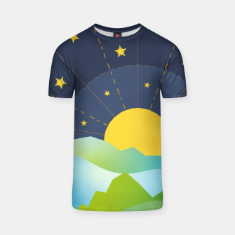 Thumbnail image of The Sun and the Stars T-shirt, Live Heroes