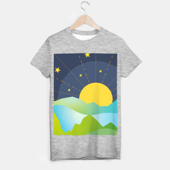 Thumbnail image of The Sun and the Stars T-shirt regular, Live Heroes