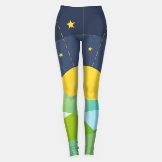 Thumbnail image of The Sun and the Stars Leggings, Live Heroes