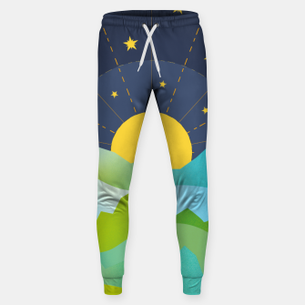 Thumbnail image of The Sun and the Stars Sweatpants, Live Heroes