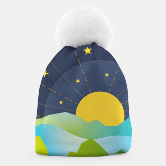 Thumbnail image of The Sun and the Stars Beanie, Live Heroes