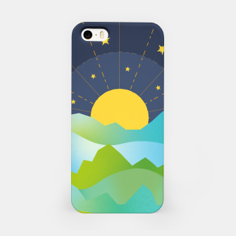 Thumbnail image of The Sun and the Stars iPhone Case, Live Heroes