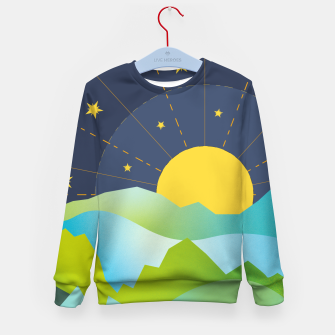 Thumbnail image of The Sun and the Stars Kid's sweater, Live Heroes