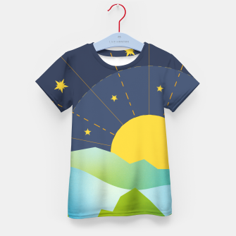 Thumbnail image of The Sun and the Stars Kid's t-shirt, Live Heroes