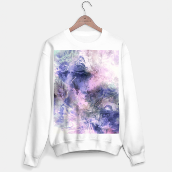 Tie dye pastel colors Sudadera regular miniature