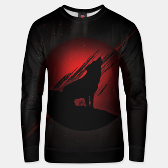 Miniature de image de Wolf with Blood Moon Unisex sweatshirt, Live Heroes