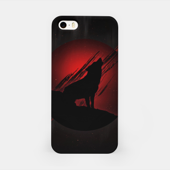 Miniature de image de Wolf with Blood Moon iPhone-Hülle, Live Heroes