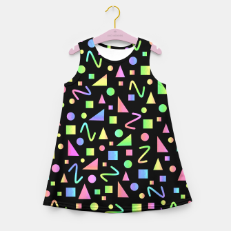 Thumbnail image of Party Geometric Girl's summer dress, Live Heroes