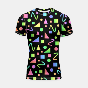 Thumbnail image of Party Geometric Shortsleeve rashguard, Live Heroes