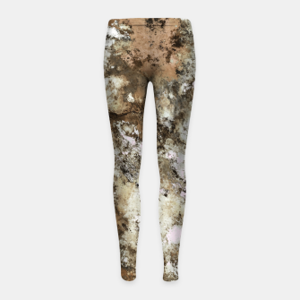 Thumbnail image of Frosted sand Girl's leggings, Live Heroes