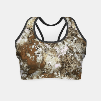 Thumbnail image of Frosted sand Crop Top, Live Heroes