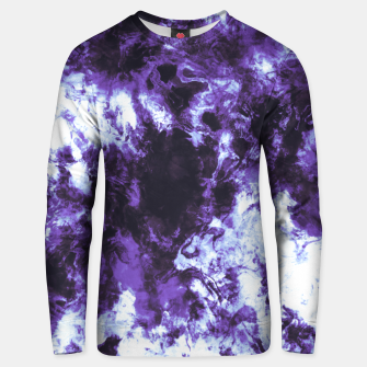 Thumbnail image of Lilac tie dye splatter Sudadera unisex, Live Heroes